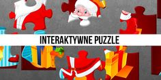 Specjalni czyli nowe technologie w szkołach specjalnych: Interaktywne puzzle - Boże Narodzenie Puzzle, Education, Games, Logos, Kids, Crafts, Speech Language Therapy, Young Children, Puzzles