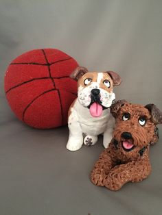 March Madness! Dogs rule the basketball brackets! #Terriers #Bulldogs Etsy.com/shop/houndsofhope