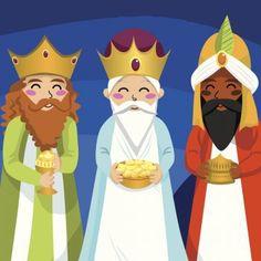 Cuento de los reyes Magos de Oriente. Leyenda de Melchor, Gaspar y Baltasar. Cuento bíblico de Navidad para niños. Cuentos navideños para leer con los niños. Cuento navideño de los reyes Magos.