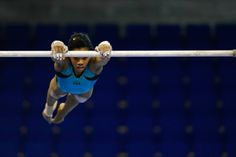 Gabrielle Douglas Podium Training for the 2015 City of Jesolo Trophy