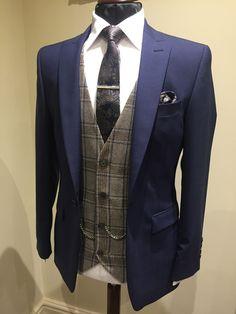 Wedding Suit Hire For Men & Tailoring – [pin_pinter_full_name] Wedding Suit Hire For Men & Tailoring Slim fit Blue suit Men's Suits, Blue Groomsmen Suits, Tweed Suits, Groomsman Attire, Wedding Suit Hire, Vintage Wedding Suits, Wedding Men, Wedding Blue, Trendy Wedding