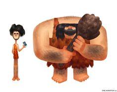 Weird People by Alfonso Salazar, via Behance