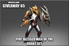 Giveaway 65 - Fire-Blessed Mail of the Drake Set