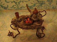 Fairy Furniture, Little Fairy Teatime Table