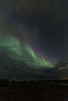 Curtain Aurora by plndrw, via Flickr