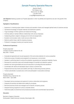 property management and resume on pinterest