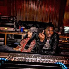 Nicki an meek mill