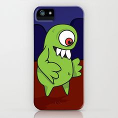 Space Character iPhone Case by HeyTrutt - $35.00