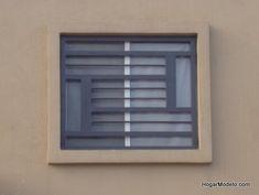 Diseño original de reja de ventana