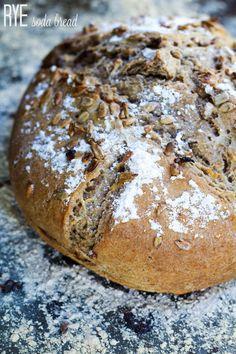 Rye Soda Bread-#TwelveLoaves