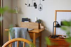 リビング Diy Organization, Interior Inspiration, Office Desk, House, Furniture, Design, Home Decor, Desk Office, Decoration Home