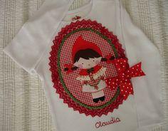 Camisetas Claudia. Caperucita Roja 2