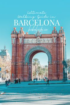 There's so much to see and do that it can be a bit overwhelming, so if Barcelona is part of your travel plans, here's an ultimate walking guide in Barcelona for first timers. Organic Structure, World's Fair, Aerial View, Trip Planning, Barcelona Cathedral, Traveling By Yourself, Cities, Walking, Tours