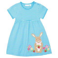 890aa058cb7e JoJo Maman Bebe Girls  Bunny Dress -  easter Summer Girls