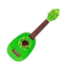 Charm your friends with the mellow tones of the Kala Kiwi soprano ukulele. You'll reach full bodied tones and sweet rich sound with this novelty style Pineapple Soprano. You'll be a hit when you start