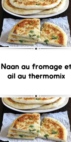 Naan with cheese and garlic in thermomix a delicious bread essential for your table. Easy to prepare at home here is the recipe for naan thermomix. Cooking Light Recipes, Cooking For Two, Easy Cooking, Cooking Ideas, Cooking Fails, Healthy Meals To Cook, Healthy Cooking, Healthy Recipes, Entrees