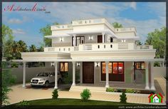 4 BED HOUSE PLAN WITH POOJA ROOM - ARCHITECTURE KERALA