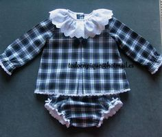 TODO EN PIQUE para bebé Baby Clothes Patterns, Clothing Patterns, Little Girl Fashion, Boy Fashion, Short Niña, Baby Olivia, Stylish Kids, Baby Crafts, Little Dresses