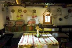 Traditional ROmanian Villages Dwelling Interior