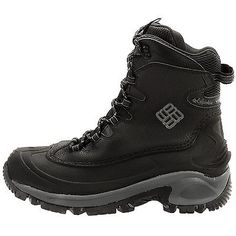 Columbia Bugaboot Mens BM1572-010 Black Waterproof Omni-Heat Winter Boots Sz 12