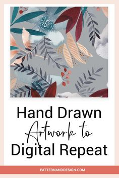 If you love creating your artwork and design motifs by hand before creating you repeat patterns, then here are some tips you should consider before you start. These tricks will help speed up your design process when creating seamless pattern repeats for your surface pattern design or textile design business. #repeatpattern #patterndesign #repeat Kids Patterns, Floral Patterns, Elements Of Art, Design Elements, Textile Design, Fabric Design, Inspiration For Kids, Surface Pattern Design, Geometric Designs