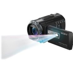 """Sony HDRPJ710V High Definition Handycam 24.1 MP Camcorder with 10x Optical Zoom, 32 GB Embedded Memory and Built-in Projector (2012 Model) by Sony. $1249.99. Equipped with a built-in projector, the one-of-a-kind Sony HDR-PJ710V High Definition Handycam Camcorder with Projector (Black) shoots 1920 x 1080 Full HD 60p/24p video, takes 24.1 megapixel still images, and can also project your home movies onto a 100"""" diagonal projection screen. It features 32GB of embedded flash m..."""