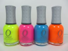 Neon for Summer - Love the colors
