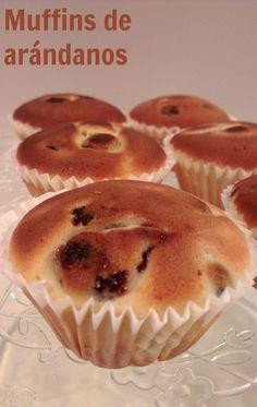 Sivila Happy Bakery : ♥ Muffins de arándanos