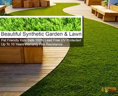 Beautiful Synthetic Lawn : Buy Quality Synthetic Grass Online click the image. Beautiful Home Gardens, Beautiful Homes, Synthetic Lawn, Stepping Stones, Grass, Home And Garden, Outdoor Decor, Image, House Of Beauty