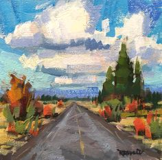 A Painterly View • Original Oil Paintings on Archival Panel