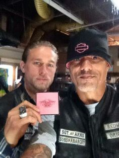FX's Sons of Anarchy behind the scenes.