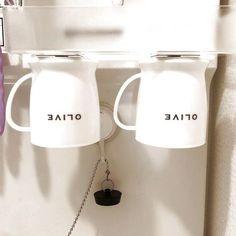 *ダイソーのお品で解決した洗面所のコップ収納*