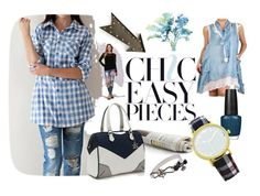 """CHIC & EASY PIECES"" by kelli-couture ❤ liked on Polyvore"