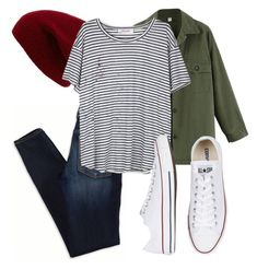 """Street style"" by kucherawyd on Polyvore featuring American Eagle Outfitters, Sole Society, Organic by John Patrick, Converse, women's clothing, women's fashion, women, female, woman and misses"