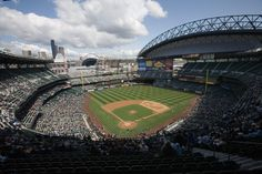 Safeco Field is a retractable roof baseball stadium located in Seattle, Washington. Owned and operated by the Washington State Major League Baseball Stadium Public Facilities District, it is the home stadium of the Seattle Mariners of Major League Baseball and has a seating capacity of 47,574 for baseball.[1] It is located in Seattle's SoDo neighborhood, near the western terminus of Interstate 90. The first game was played on July 15, 1999.