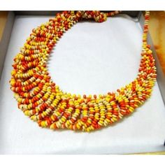 High Quality Fashion Exaggerate Beads Necklace Colorful Euramerican Style Accessories