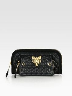 f7dbe37ad513 Burberry - Alma Fox Quilted Clutch