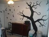 nightmare before christmas with glow in the dark. Black Bedroom Furniture Sets. Home Design Ideas