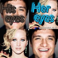 My two favorite pictures of Joshifer's eyes!:)