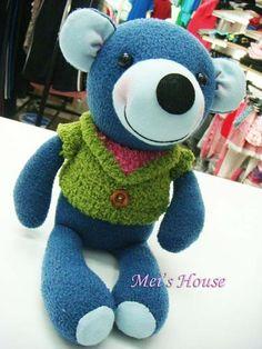 毛襪娃娃------熊腦筋 @ 襪子娃娃會說話! :: 隨意窩 Xuite日誌