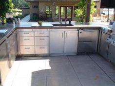 Outdoor Kitchen - Sacramento Valley - modern - patio - sacramento - Kalamazoo Outdoor Gourmet