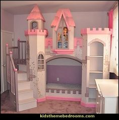 girl Themed Bed | Anatolian Castle Bunk Bed-castle beds-castle theme beds