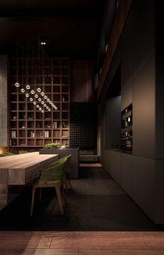 Luxury interior packed with high-end home design inspiration; Loft Interior, Interior Modern, Luxury Interior Design, Apartment Interior, Modern Decor, Modern Rustic Homes, Rustic Home Interiors, Luxury Home Decor, Modern Interiors