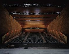 The Tiroler Festspiele Erl's new Festival Hall by Delugan Meissl Associated Architects | Yatzer