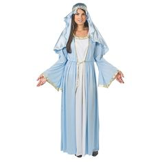 Adult's Deluxe Mary Costume - OrientalTrading.com