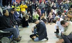 """Forgiveness Ceremony Unites Veterans And Natives """"... We fought you. We took your land. We signed treaties that we broke. We stole minerals from your sacred hills. ..."""""""
