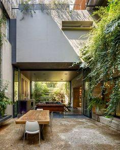 HIPSTERSKIE MIESZKANIA: Idealne połączenie ogrodu z wnętrzem