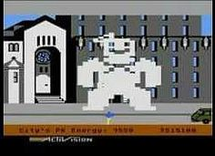 Ghostbusters Activision (1984) - Stay Puft Marshmallow Man