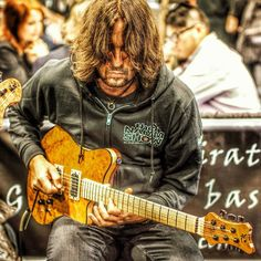 Marc Guillermont back at NAMM 2013. Working on a new album. Great fusion player and composer .