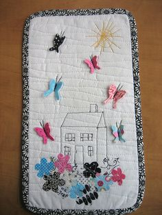 Very much my style of sewing freehand!
